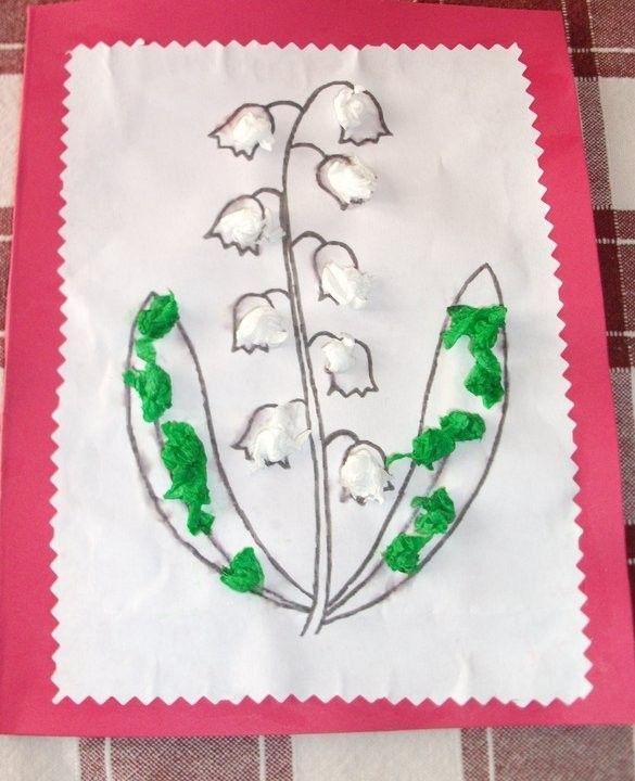 Muguet - Bricolage simple pour enfant ...