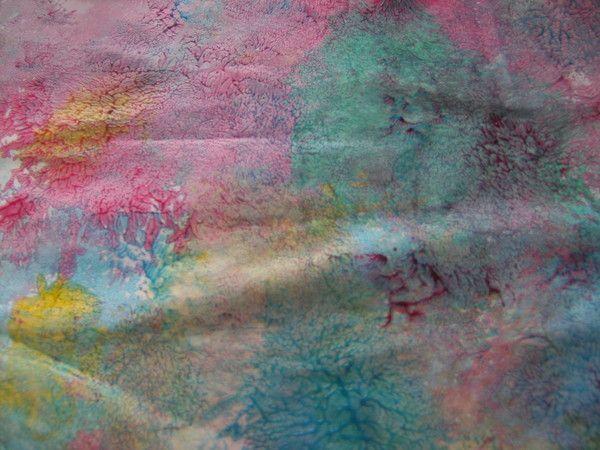 Peinture au ballon de baudruche for Technique de peinture murale a l eponge